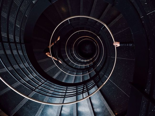 Open Edit VSCO EyeEm Best Shots Urban Geometry Architecture Chicago Spiral Staircase