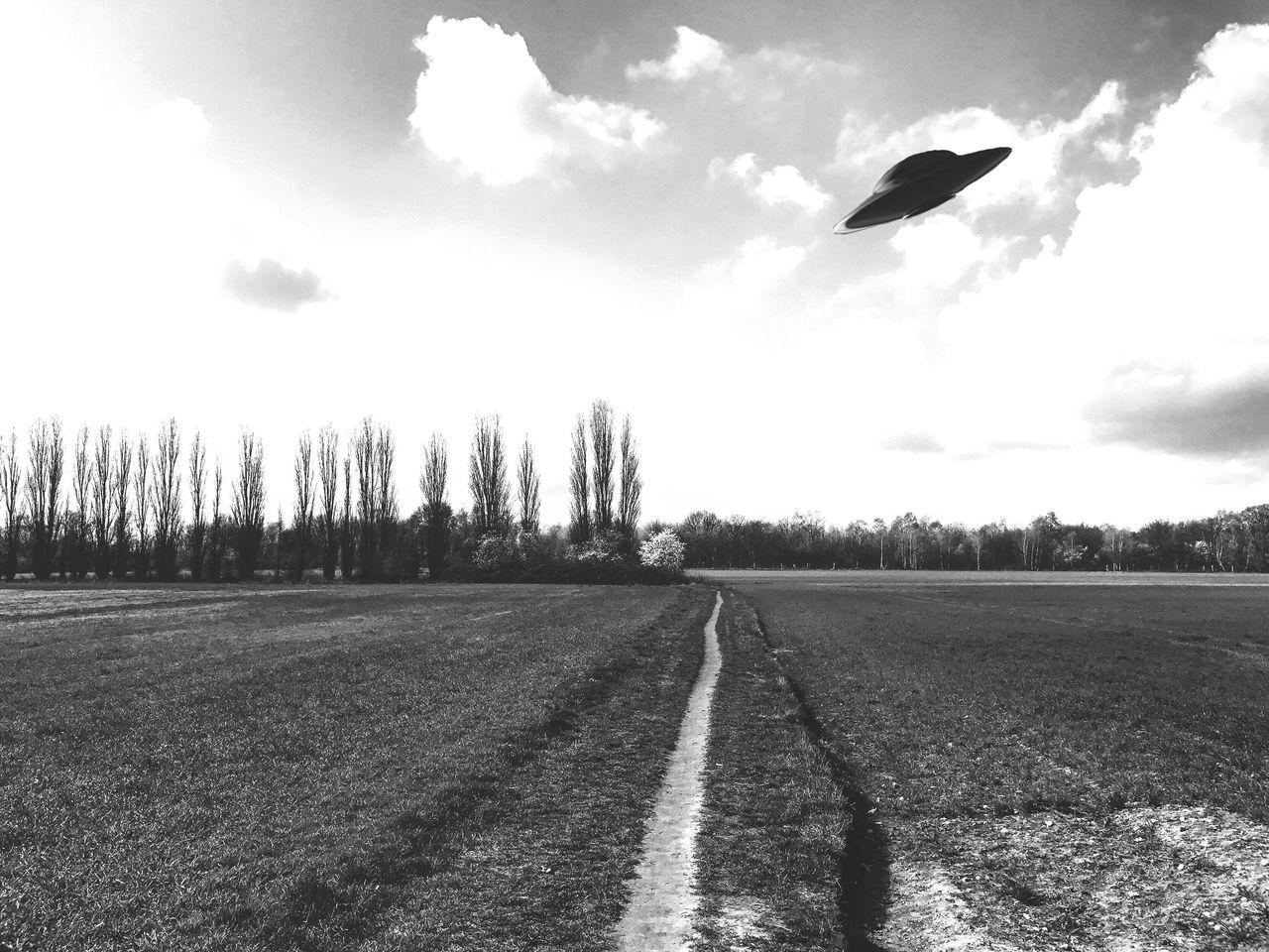 Cut And Paste UFO Brandenburg Iwanttobelieve