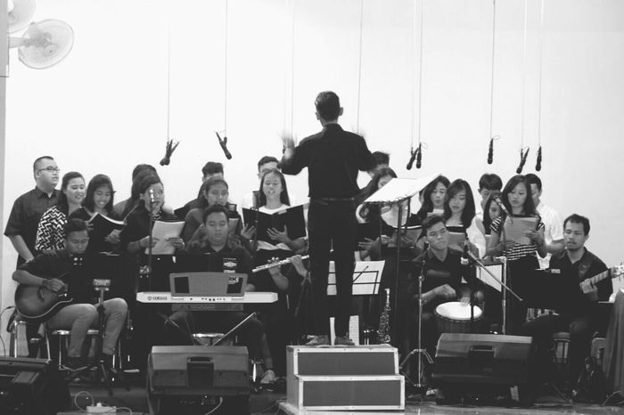 Serving for God 💓💓💓 Music Performance Choir