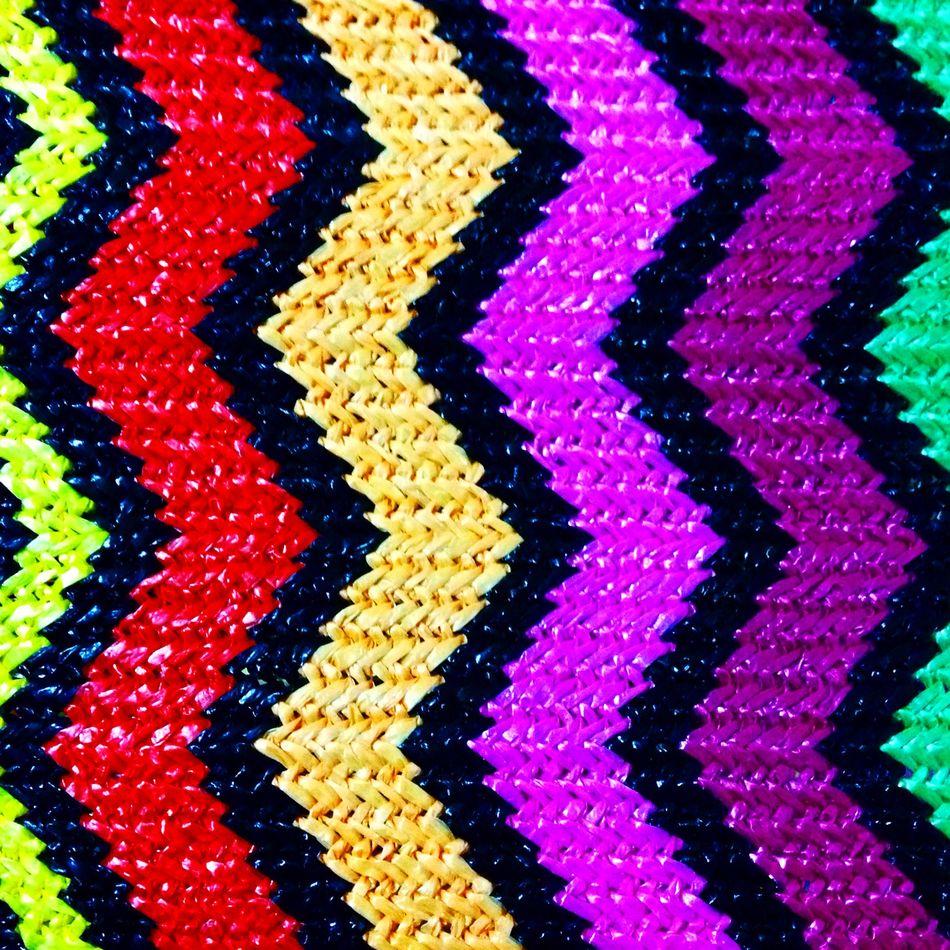 New in my studio💖 Material Design Artisan Peruvian Embroidery Zigzag Colors Fabric Bagdesigner Laviniafenton