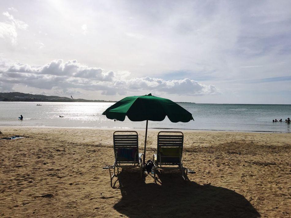 Beautiful stock photos of puerto rico, Beach, Beach Umbrella, Beauty In Nature, Cloud - Sky