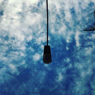The sky ocean Under_the_lamp_post BeautifulSavior Creator  Creation bluesky
