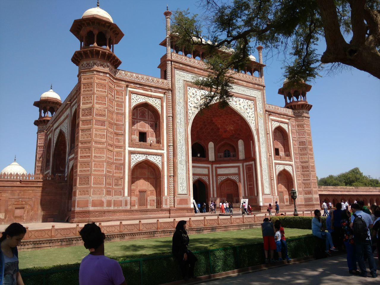 Travel Destinations Travel Large Group Of People Tourism Architecture Pilgrimage Vacations People Outdoors Adults Only Day Adult Taj Mahal Agra Buliding Built Structure Architecture Rural Landscape Landscape EyeEmNewHere