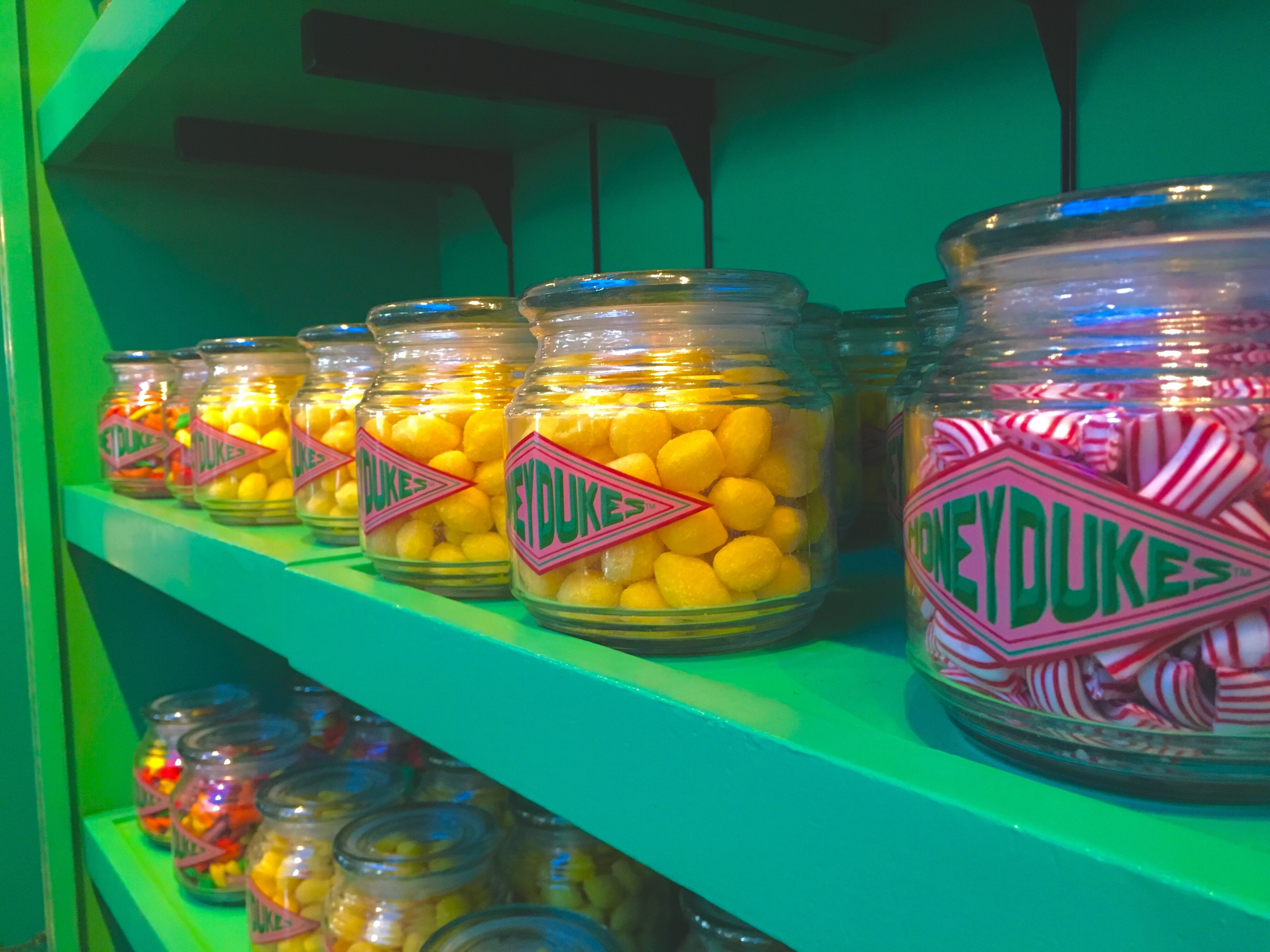indoors, food and drink, multi colored, store, sweet food, jar, no people, choice, unhealthy eating, food, freshness, day