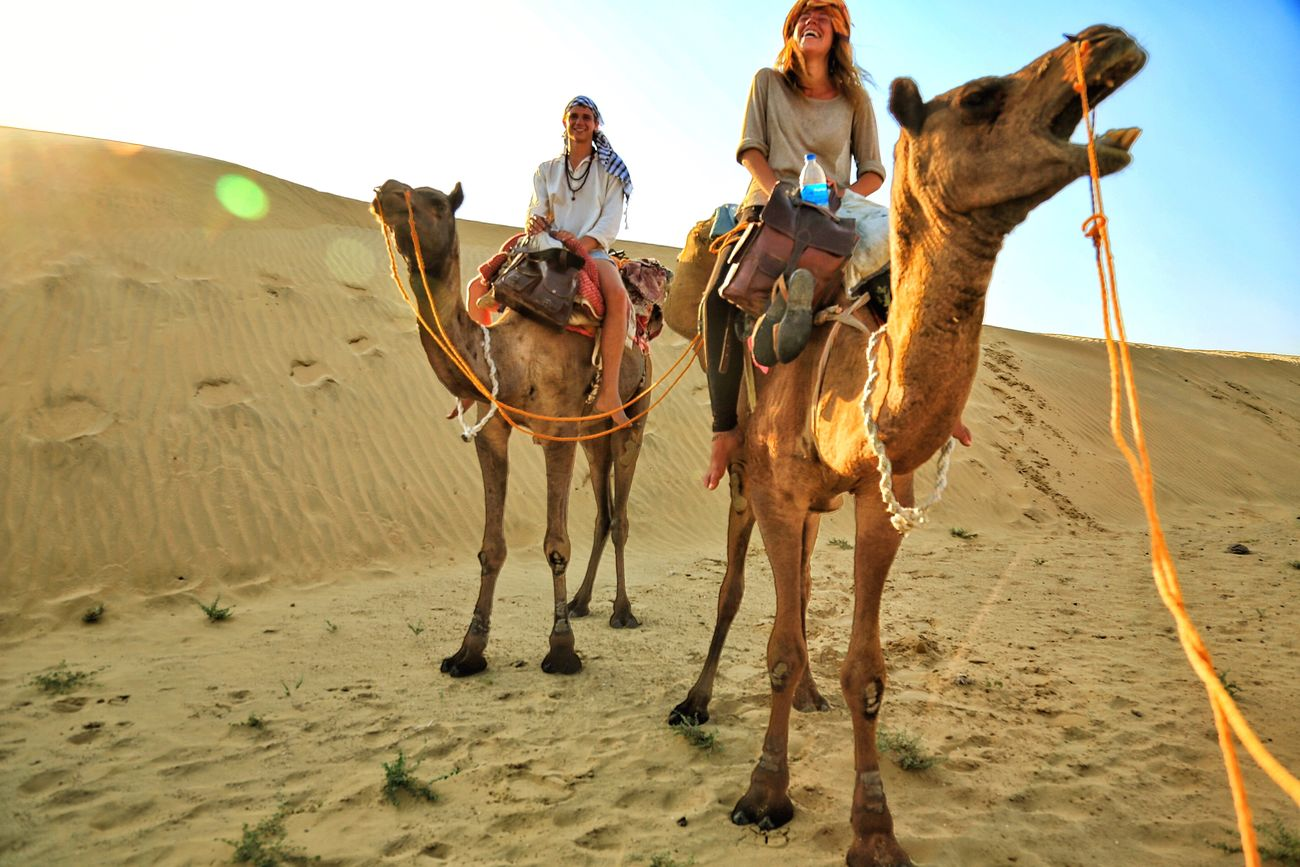 CaptureTheMoment Desert Camel India Couple Adventure Beautiful First Eyeem Photo