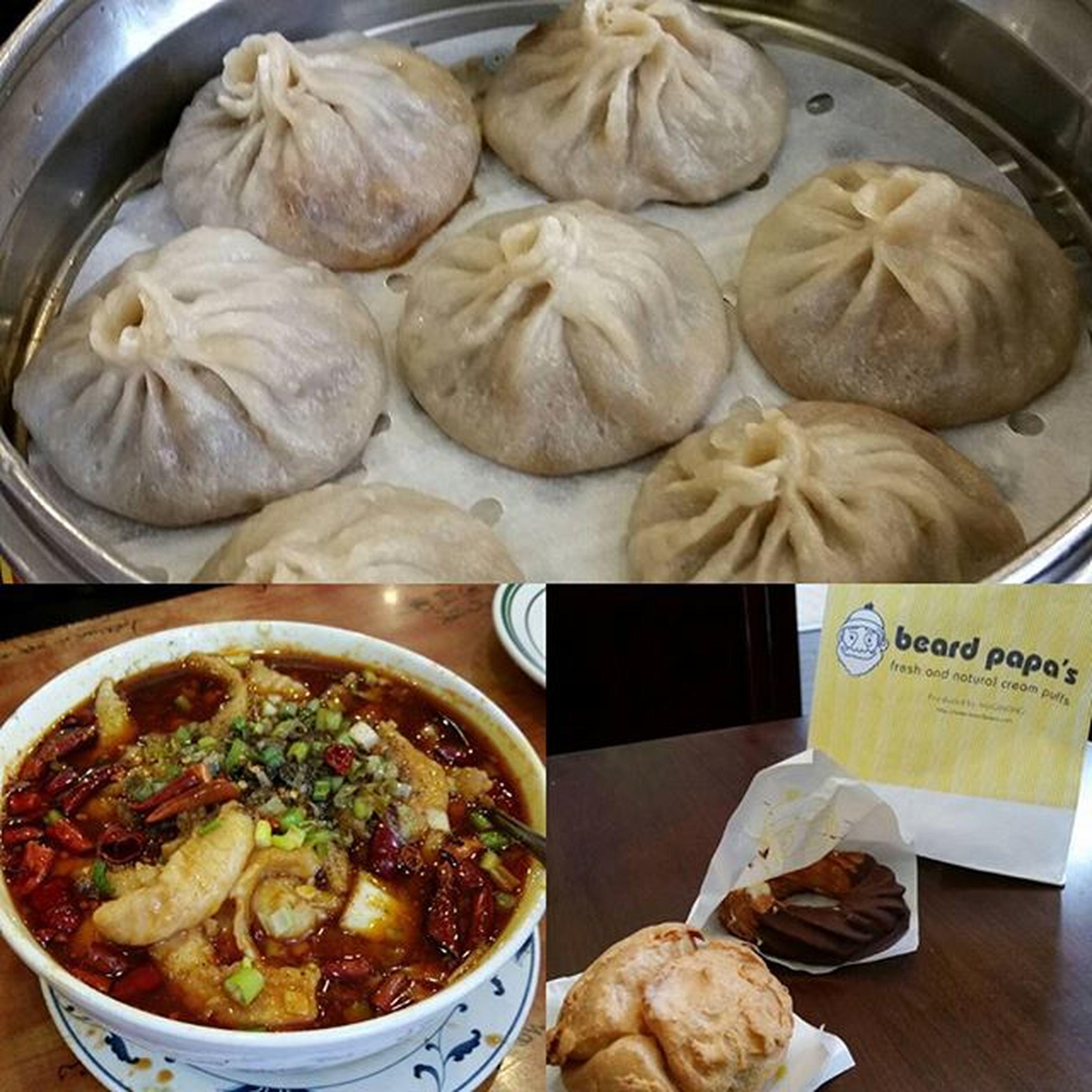 Boston Chinatown food adventures Bostonfoodies Foodporn Chinatown Soupdumplings Beardpapas Creampuff Celebritiesatehere Morefoodnotpictured Somuchfood Nofilters