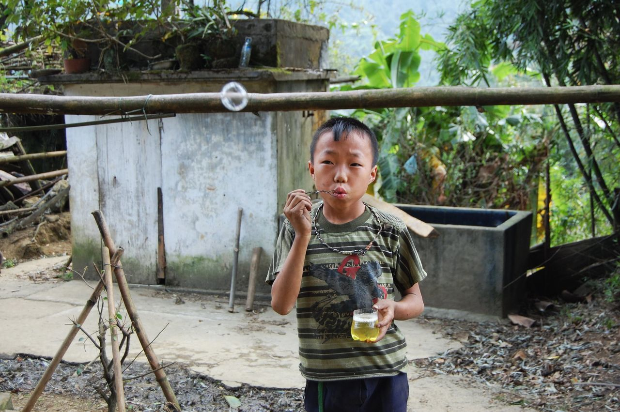 Beautiful stock photos of vietnam, childhood, children only, child, one person