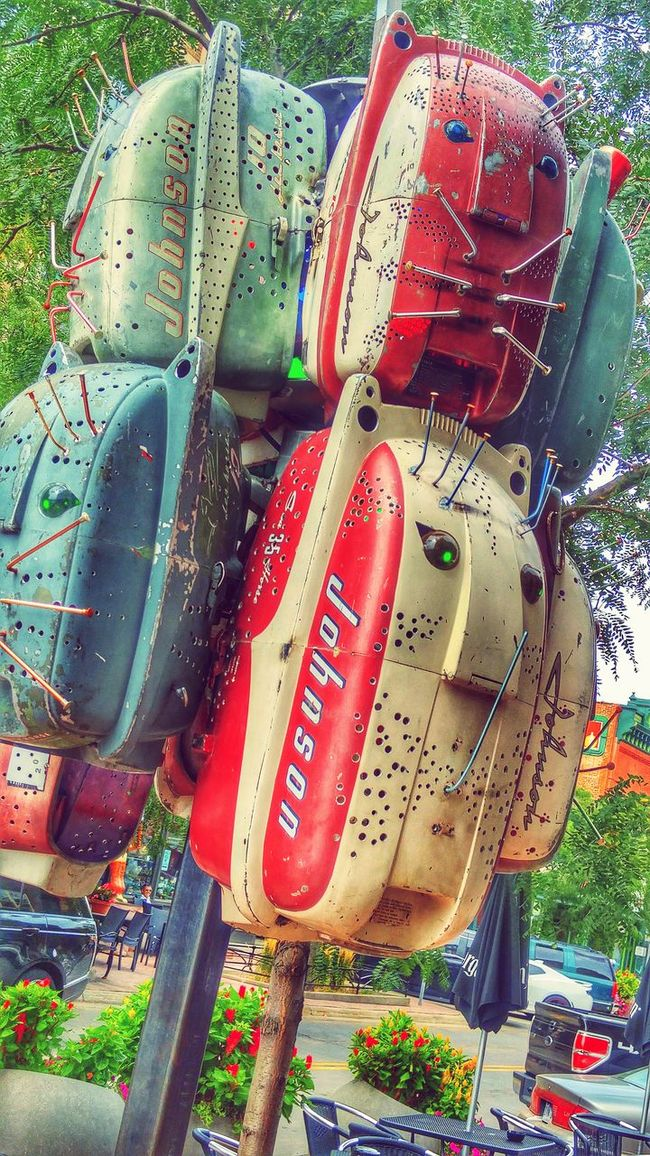 Katz Sculpture Sioux Falls Johnson Outboard