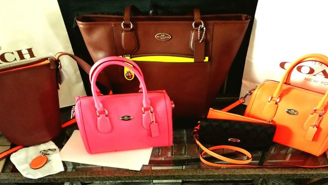 Color Portrait Coach Handbag Facebook MY GROUP... Coach and others Authentic Designer lovers Neons