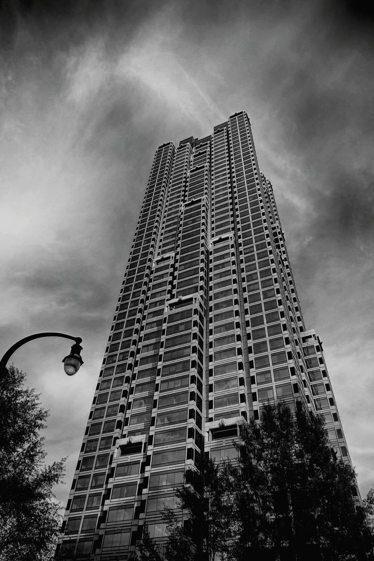Sky City Skyscraper Cloud - Sky Outdoors Architecture Modern Black And White Photography Atlanta Georgia Peachtree Street Cityscape Streetphotography