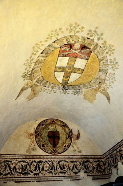 Affreschi Art Castel Castello Italy Medieval Architecture Medieval Art Medieval Castle Medieval Paint Painted Wall Rocca Spoleto Umbria
