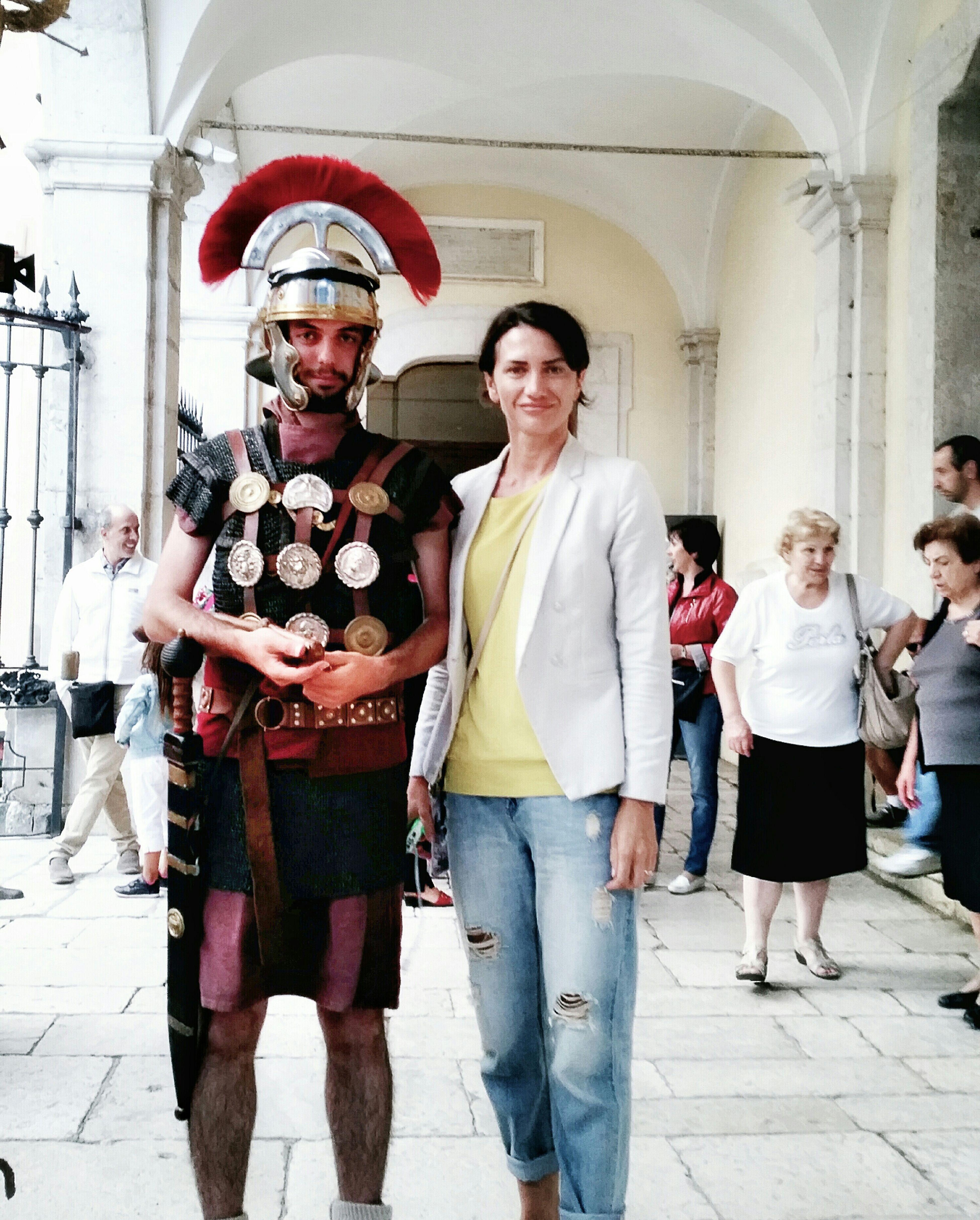 la divisa spesso diventa un arma disarmante - мужчину красит униформа Legionário легионер римский Romano Soldato Romano Divisa униформа мужчина Uomo Италия