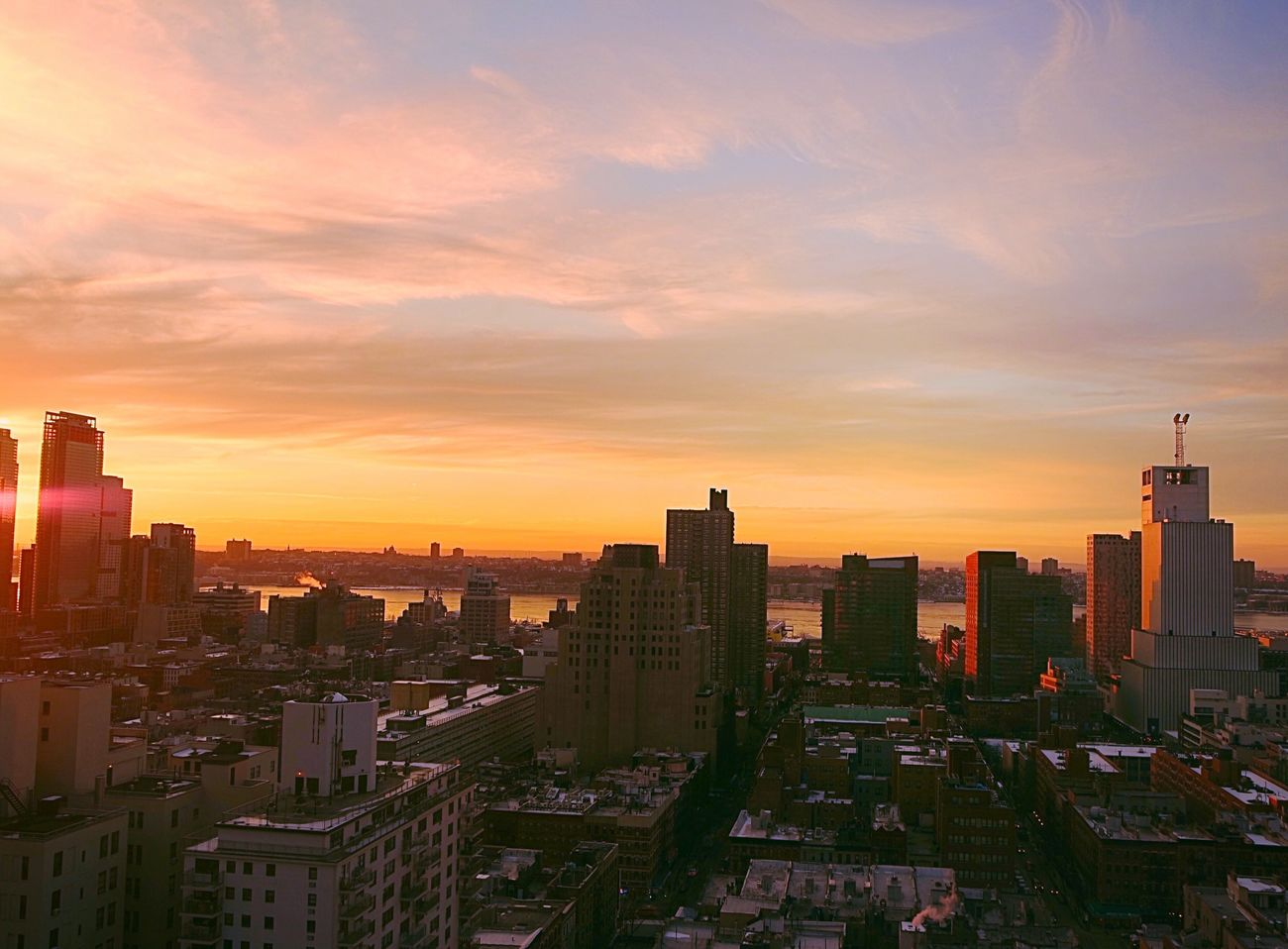 Sunset Over Hudson Newyorkcity Lovenewyork EyeEm Best Shots - Sunsets + Sunrise Sunset_collection Enjoying Life