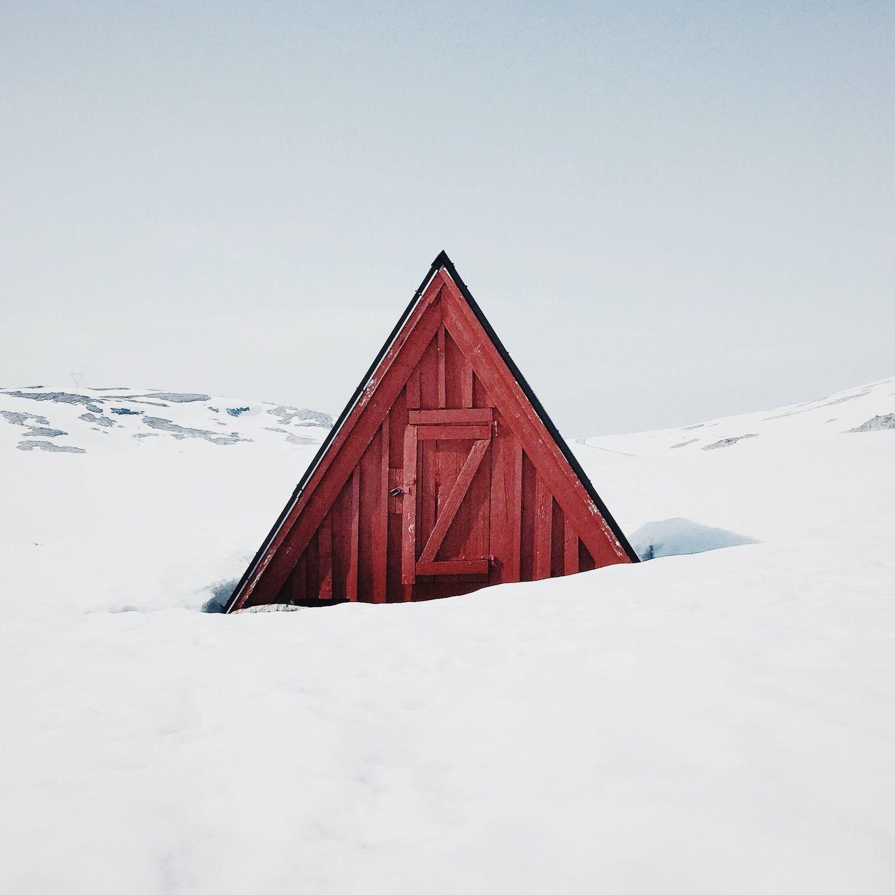 Triangular. Norwaysafari Norway Architecture Winter snow aframe