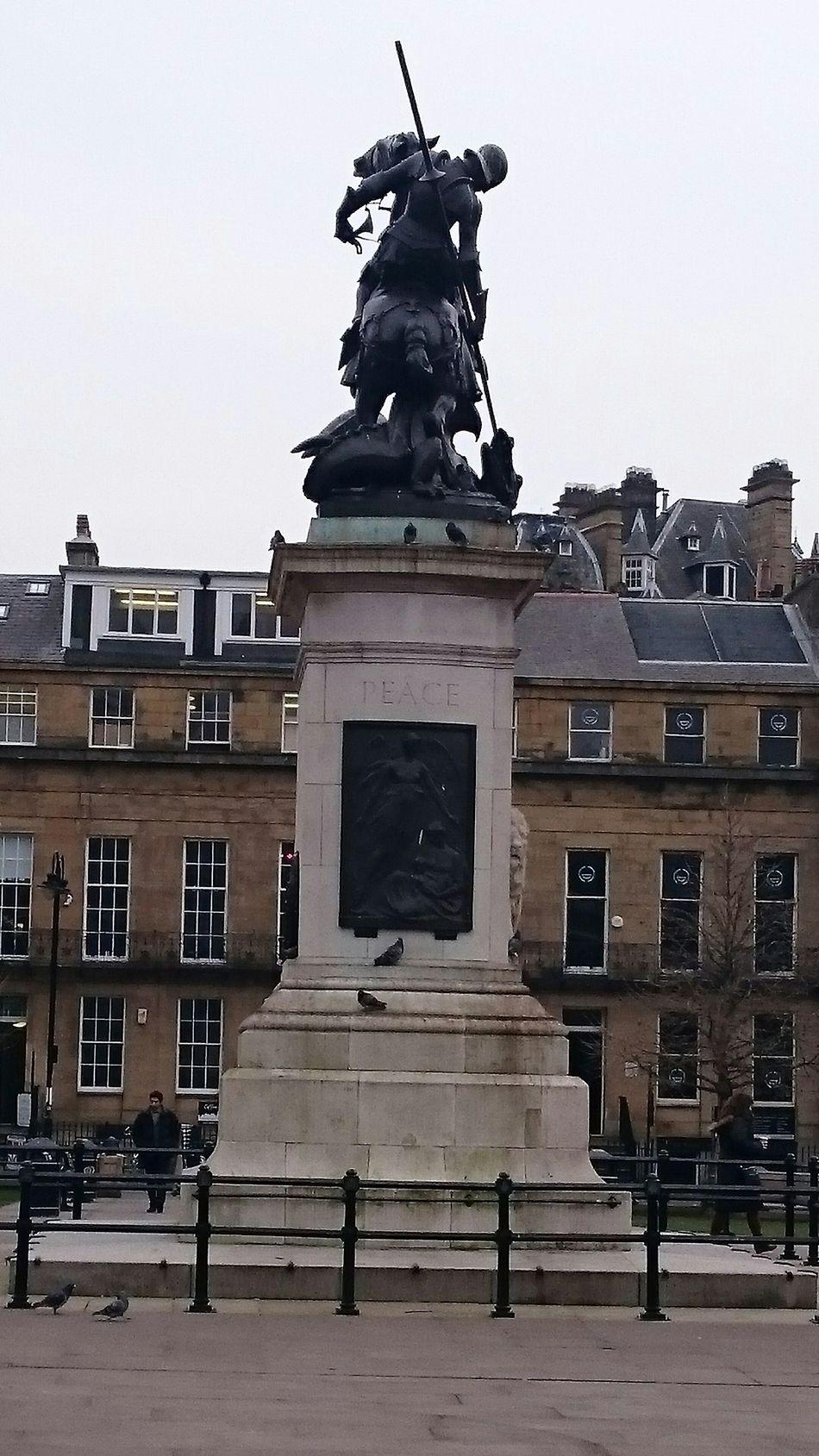 Eldon Square Remembrance Newcastle Upon Tyne