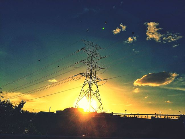 Sunset Sunset_collection Hello World Blue Blue Sky Clouds And Sky Clouds Eye4photography  EyeEm Best Edits EyeEmBestPics