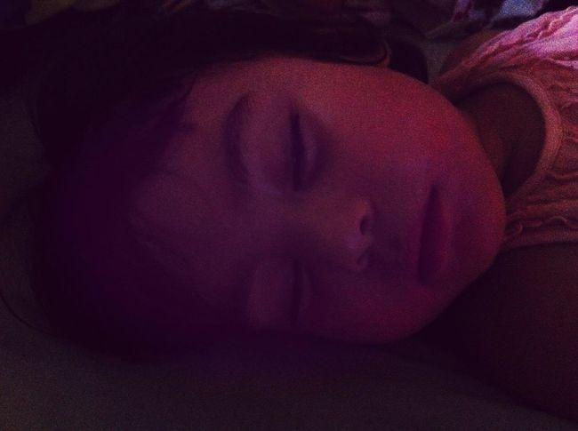 Fast asleep.......