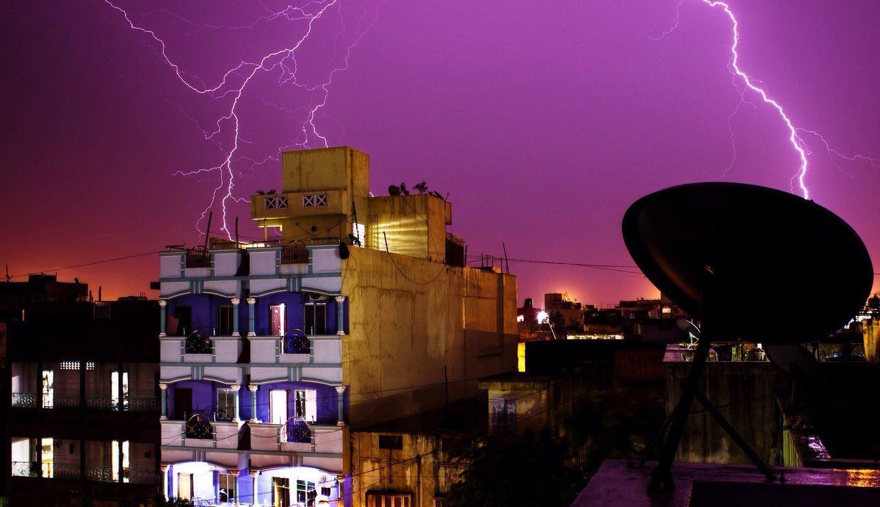 Beautiful stock photos of lightning, Architecture, Building Exterior, City, Cityscape