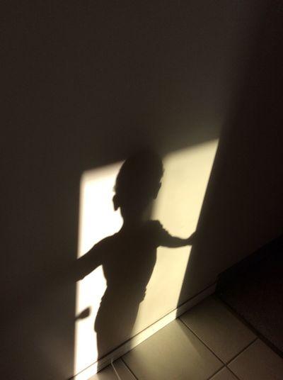 Childhood Door Of Hope Focus On Shadow Human Hand Indoors  Shadow Silhouette Sunlight EyeEmNewHere