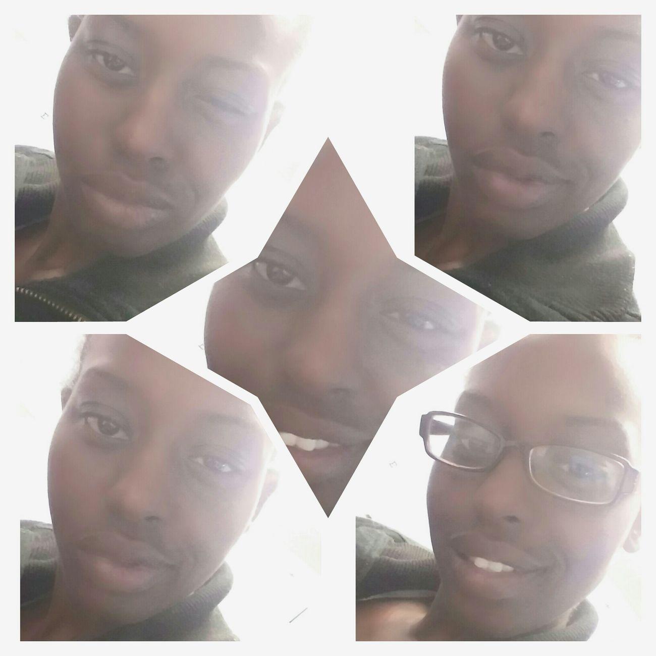 Oh happy day Sexy Lips Myblackisbeautiful Darkskin BeautyBeautiful Girl Smile Smartgirl  Nerd Life Student Life Selfie