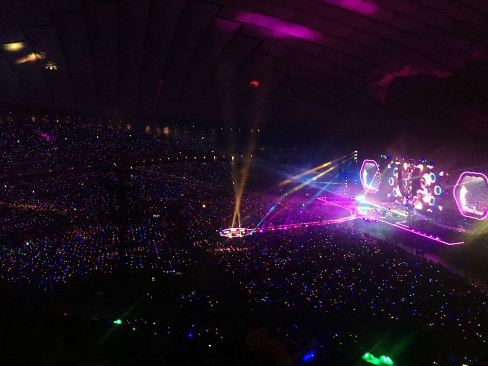 Hymnfortheweekend Coldplay Coldplay Concert  Japan Tokyo AHFODtour Music Stage Light Live Live Music Music Photography