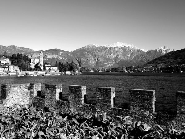 Little World 008 - Tremezzina, 2017 Black & White Black And White Black And White Photography Black&white Blackandwhite Blackandwhite Photography Bnw Bnw_captures Bnw_collection Bnw_friday_eyeemchallenge Lago Di Como Lake Lake View Lakescape Landscape Lario Monochromatic Monochrome Monochrome Photography Nature Outdoors Scenics Tremezzina Tremezzo Water