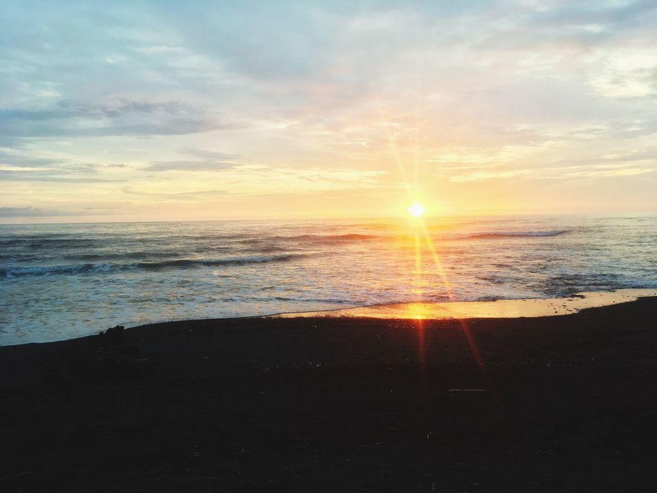 Playa Mar Beach Costa Rica Sunset Pura Vida Atardecer Arena