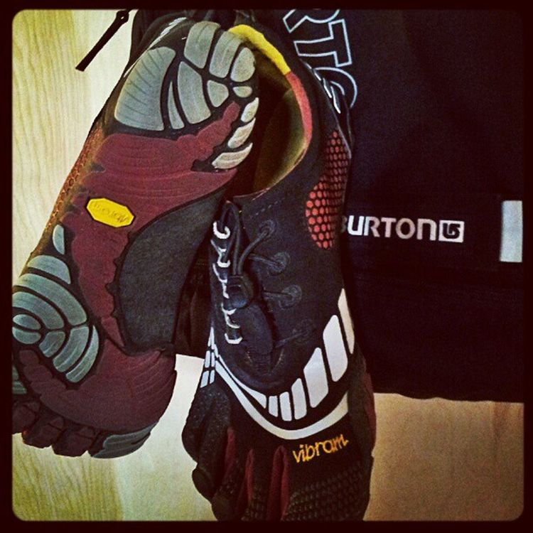 Happy to be Running again. Even if in a limited capacity. Stressfracture Vibram Fivefingers MakeItHappen