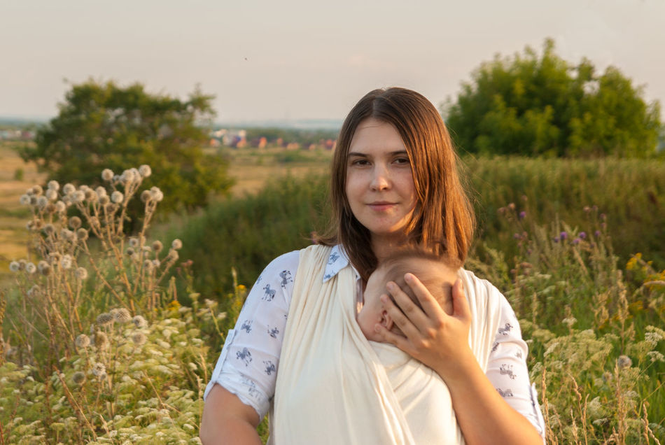 It's wonderful outside the city Baby Baby Sling Baby Wrap Babywearing Bonding Childhood Children Closeness Family Field Golden Hour Grass Lifestyle Looking At Camera Love Maternity Mom Mother And Son Motherhood Outdoors Parenting Sling Smiling Summer Woman