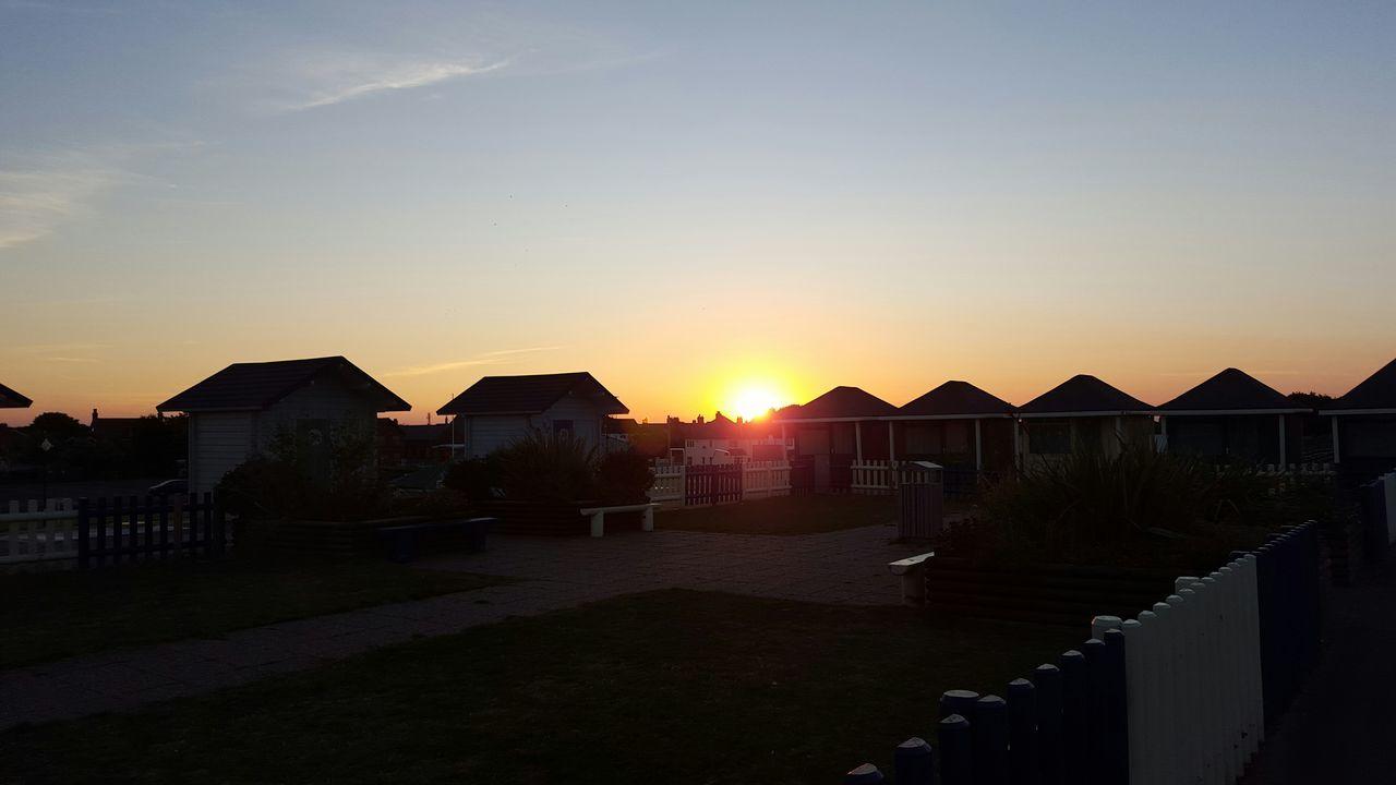 Chalettown Chalet Chalets Sunset Evening Sky Evening Glow Enjoying The Sunset Walking SummerNights