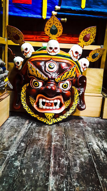 Mask Mask Masks Arts And Crafts Mask_collection Bhutanese Culture Bhutanese Architecture Culture And Tradition Cultural Heritage EyeEmNewHere Eye4photography  Eyeemphotography Eye For Photography