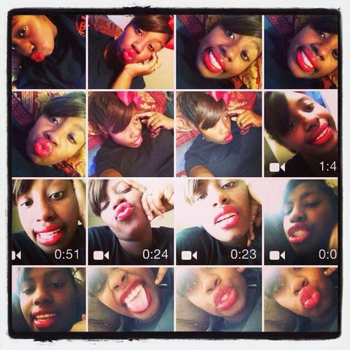 Redlipstick That's Me Relaxing Check This Out