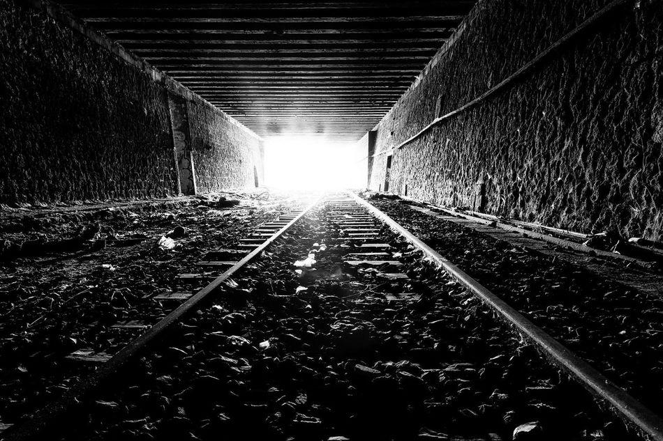 Death NearDeath Tunnel Blackandwhite Photography Blackandwhite First Eyeem Photo