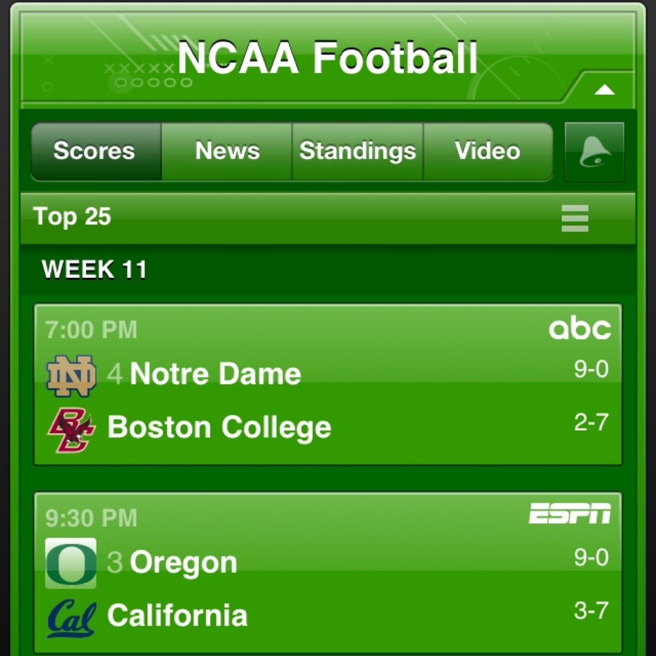 Favorite 2 Teams Oregon Ducks
