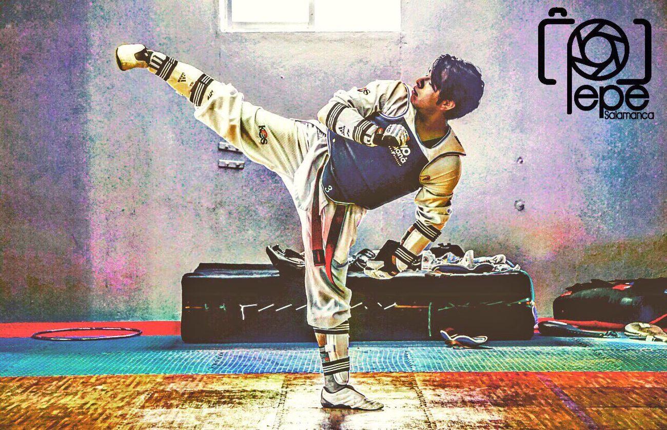 One Person Day Taekwondo Lifestyles Uniform Moments Deporte Mylife Sigueme