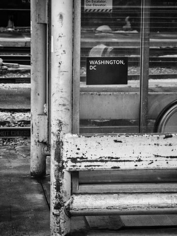 Decay Elevator Representing Rust Station USA Washington, D. C. Work Amtrak Capital Decline Main Station  Old Rusty Text Urban