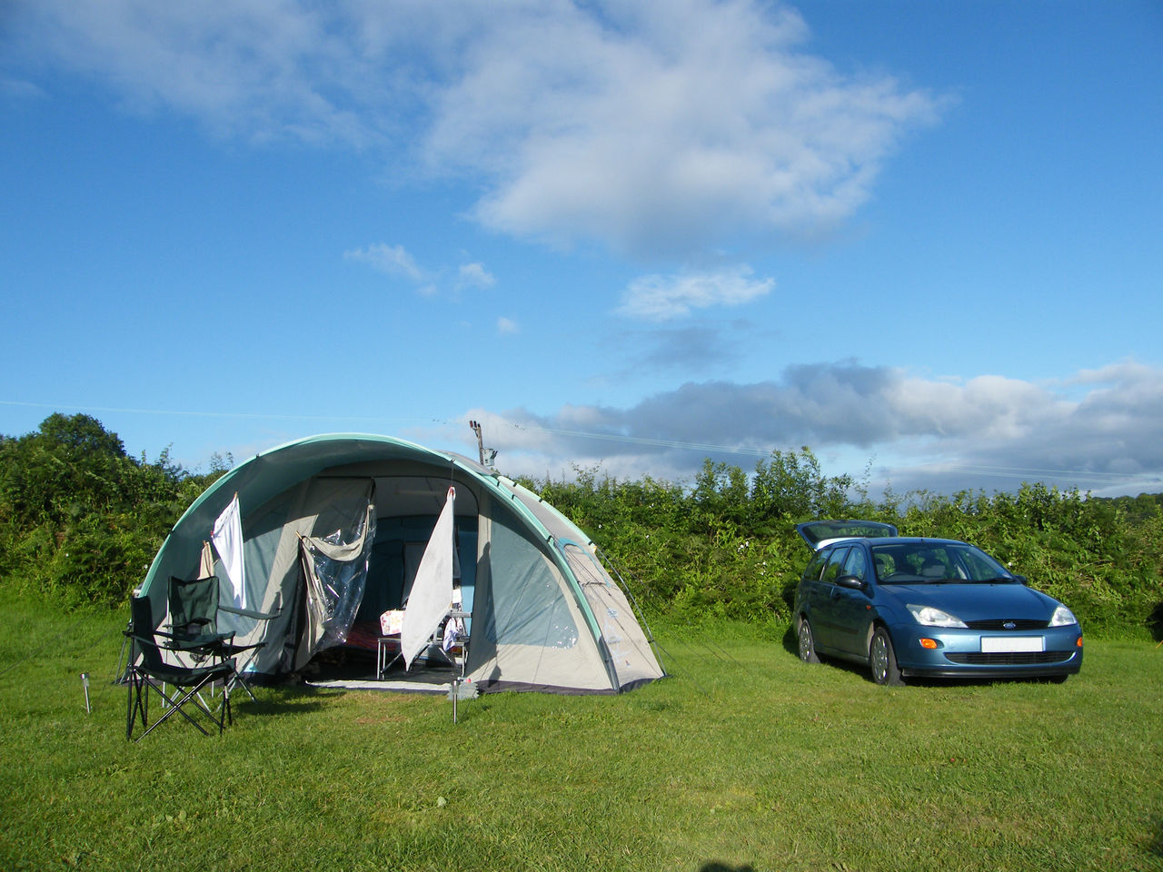 Adventure Blue Camping Camping Camping Holiday Car Cloud - Sky Day Holiday Landscape Mode Of Transport Nature No People Outdoors Pembrokeshire Pembrokeshire Coast Pick-up Truck Saundersfoot Sky Transportation
