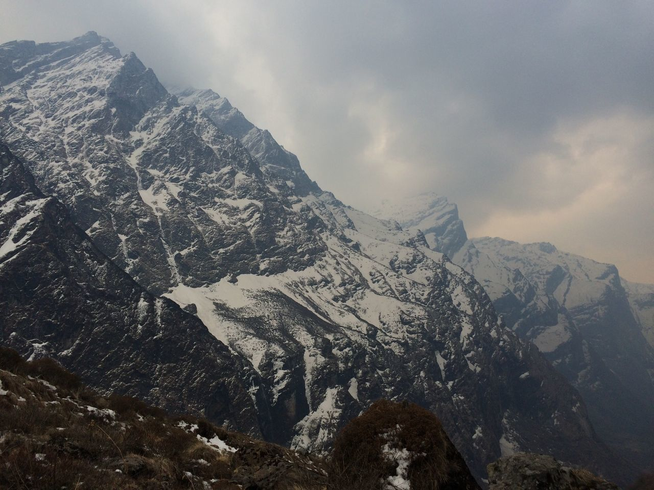 Beautiful stock photos of annapurna,  Beauty In Nature,  Cold Temperature,  Day,  Fog