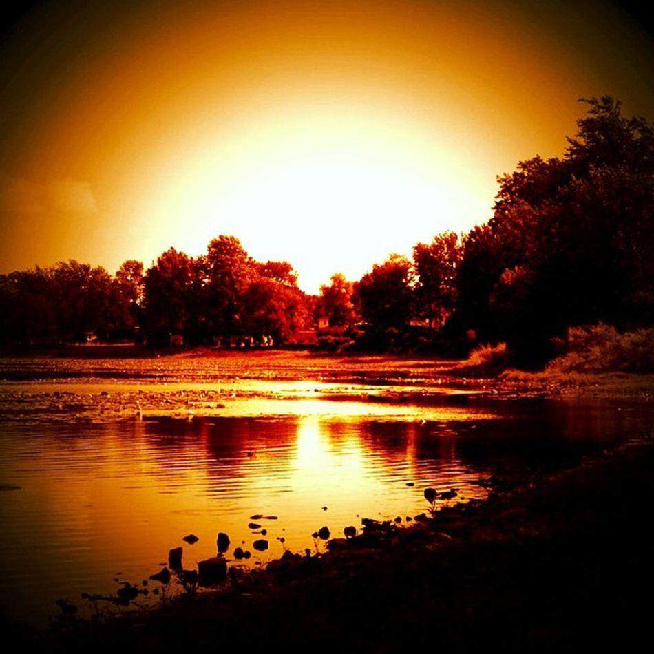 Beautiful Lake Enchanting Instamood Instagood Ig_4every1_orange Brightsepia