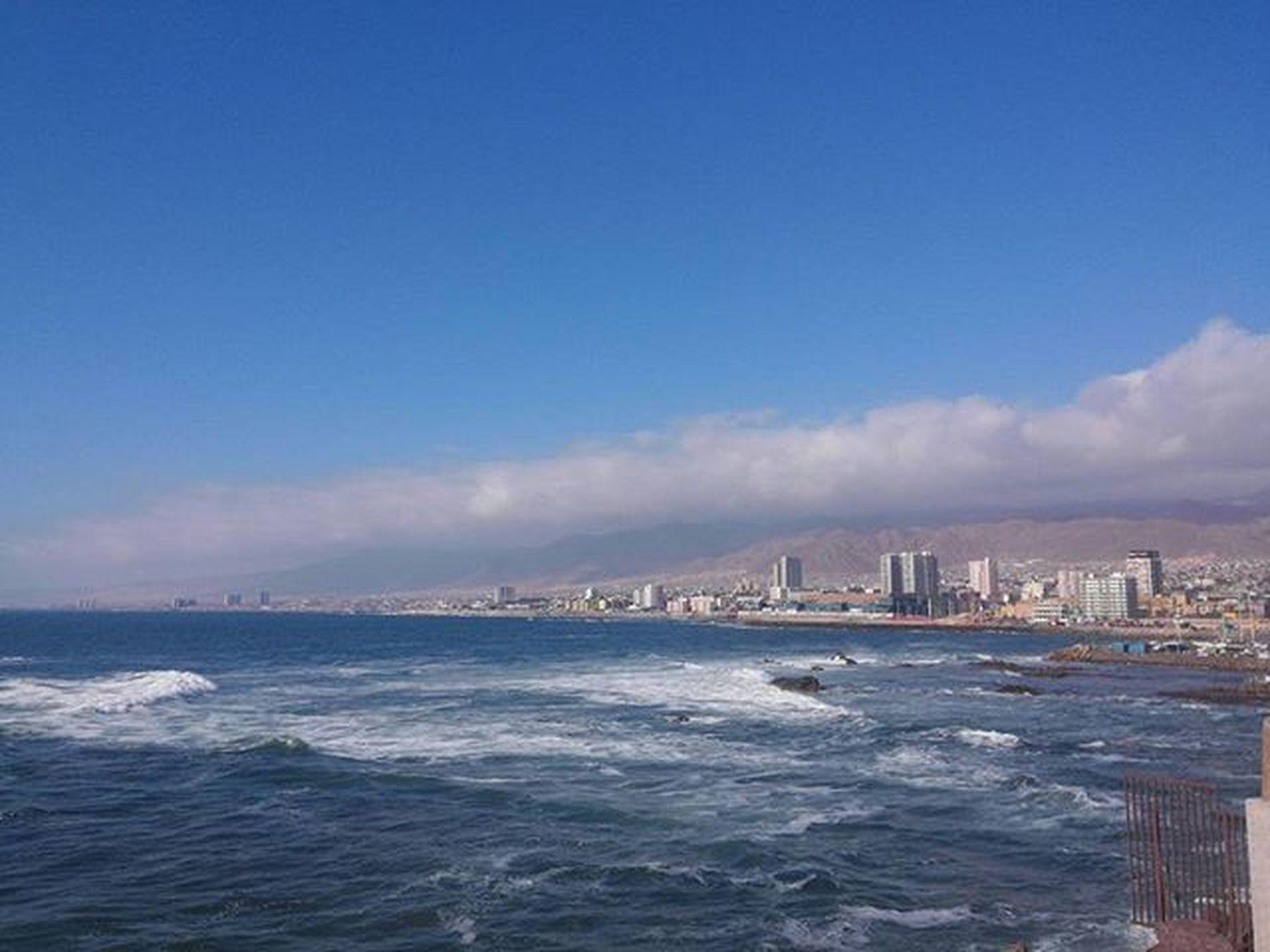 My new home for 2 years: the beautiful city of Antofagasta, Chile! Maya Papaya vaya a la playa! :) Cothinchile Extremelychile Extremenazarene Home Coast Ocean Beach Playa Antofagasta Awesome Nofilter