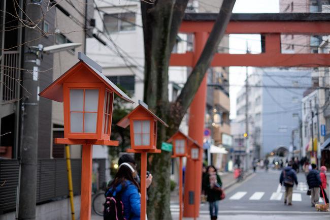 赤城神社 Fujifilm Fujifilm X-E2 Fujifilm_xseries Japan Japan Photography Japanese Culture Lantern Shrine Street Street Photography Tokyo Xf35 Xf35mm 東京 灯籠 行灯 赤城神社 鳥居