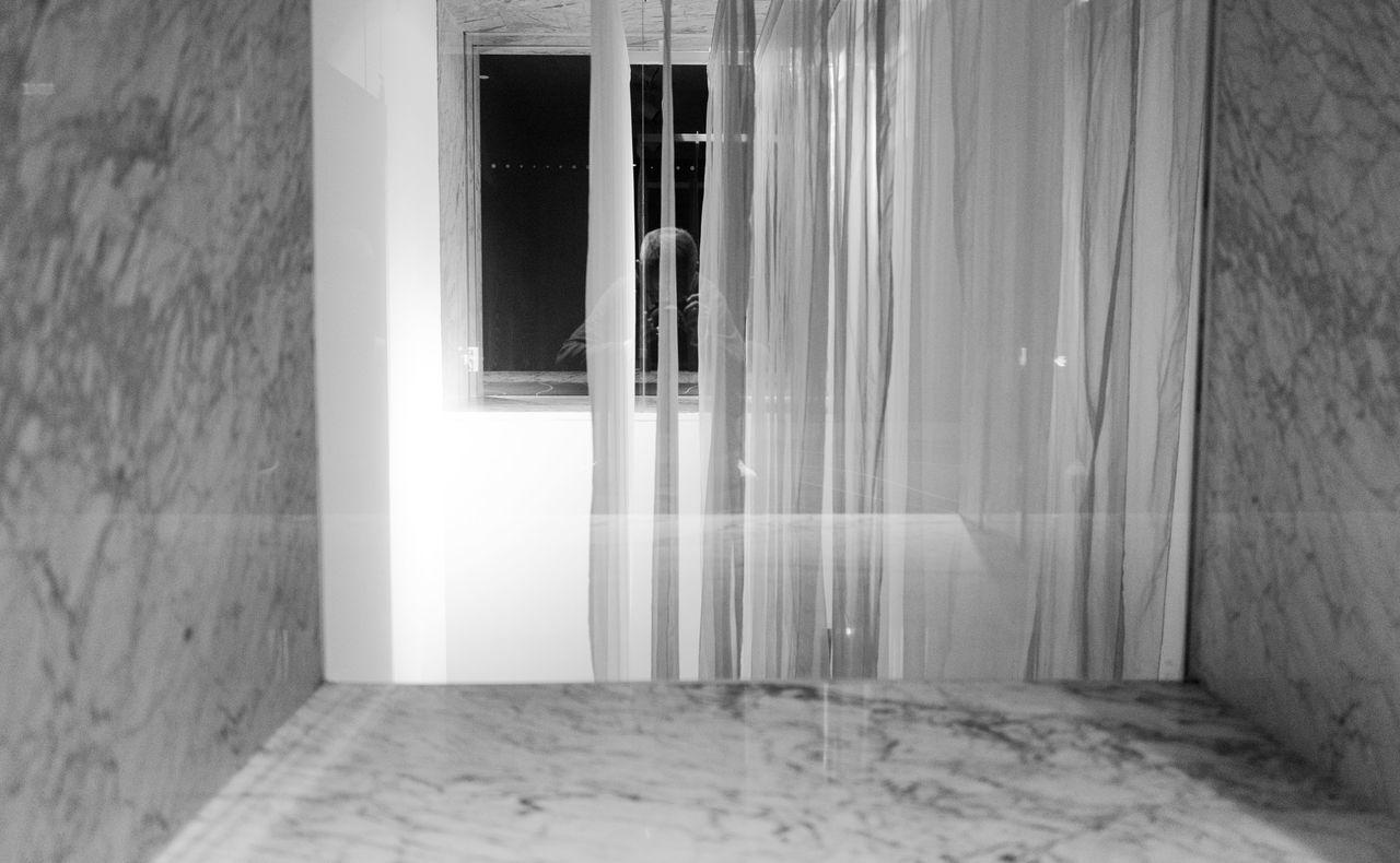 door, curtain, indoors, window, home interior, architecture, domestic room, day, no people, bathroom, water, shower, open door