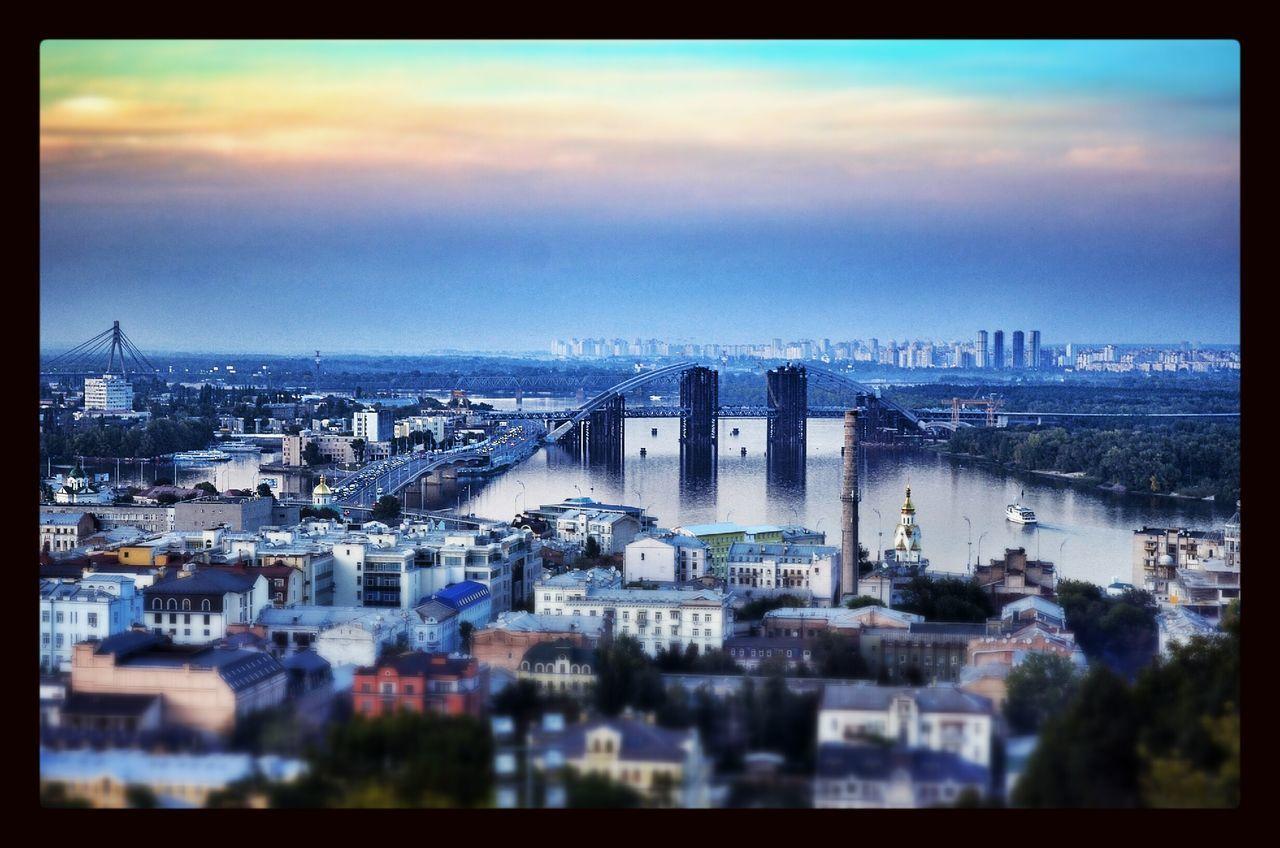 architecture, cityscape, building exterior, built structure, city, no people, sky, outdoors, skyscraper, cloud - sky, wide, day, water, tilt-shift, urban skyline, nature