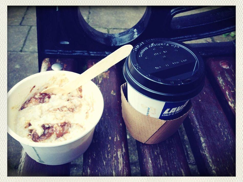 porridge Mocha Enjoying Life Marlay Park