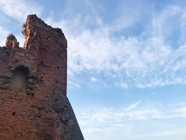 Low Angle View Sky Architecture History Built Structure Cloud - Sky Day Building Exterior No People Ancient Outdoors Castle Nature Ancient Civilization