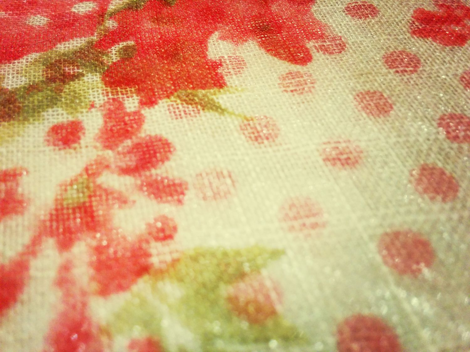 Textures And Surfaces tablecloth