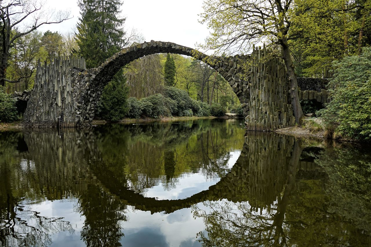 recently in Middle Earth Arch Beauty In Nature Bogen Branch Bridge Herr Der Ringe Lake Lord Of The Rings No People Reflection Scenics Spiegelungen Steinbrücke Stonebridge Symmetry Tree Water The Great Outdoors - 2017 EyeEm Awards