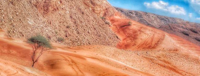 Desert Alone Alone Time Alone In Desert Red Nature Natural Beauty Arabia Arabian Eyes Arabian Desert HDR Nature_collection Photography My Shot  My Favorite Photo Experimental New Again Old Shot Hello World Different Popular Photos EyeEmBestPics Taking Photos Landscape