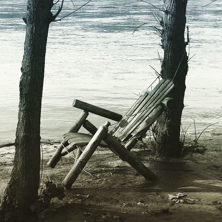 EyeEm Great Falls National Park EyeEmBestPics Virginia River Riverbank Chair Winter Trees EyeEm Gallery Water February February 2016 Lowlight Lowlightphotography Low Tide Calm Calmness Calm Water Calming Calm Before The Storm IPhoneography Learn & Shoot: Balancing Elements EyeEm Best Shots EyeEm Nature Lover