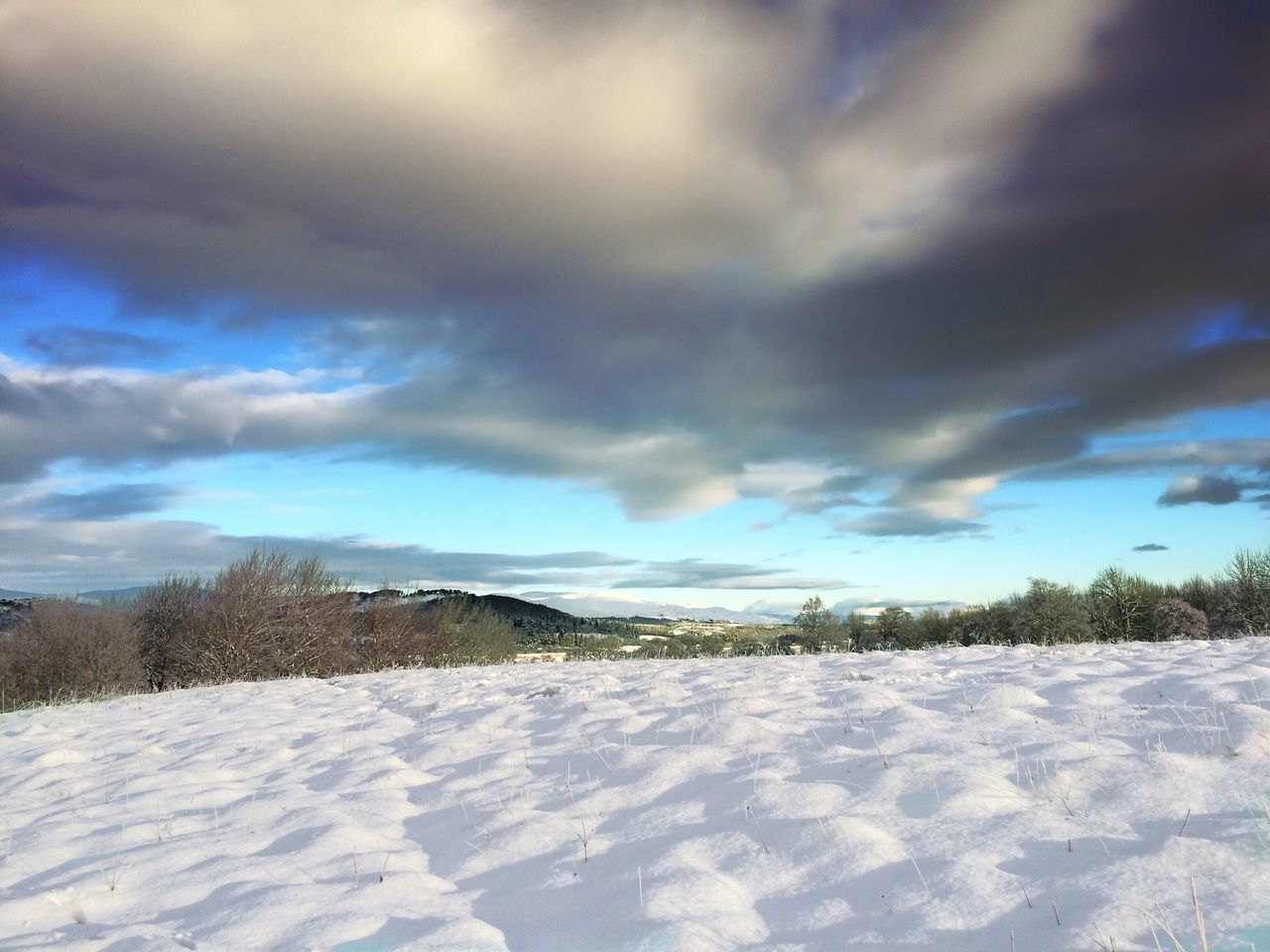 Winter Landscape Insh Marshes Scottish Highlands Wintertime Snow Clouds And Sky EyeEm Best Shots Landscape_Collection Outdoor Photography EyeEm Best Shots - Landscape EyeEmBestPics Mobilephotography IPhoneography